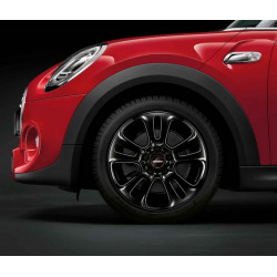 "17"" JCW RAYONS DOUBLES 510, NOIRES"