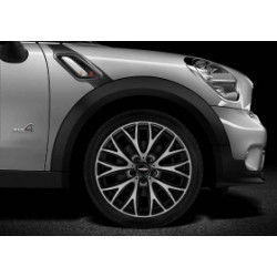 "19"" JCW CROSS SPOKE R134, BI-COULEURS."